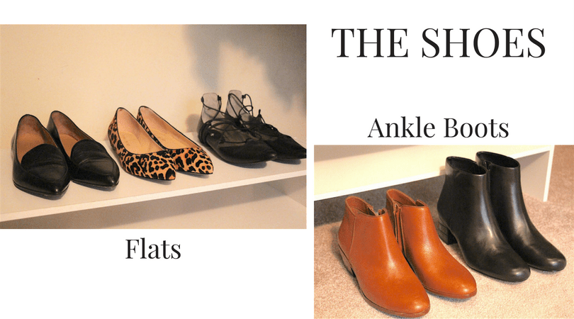My Fall 2016 Capsule Wardrobe Shoes