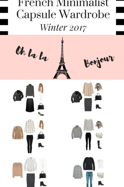 French Minimalist Capsule Wardrobe On a Budget: 10 Winter Outfits
