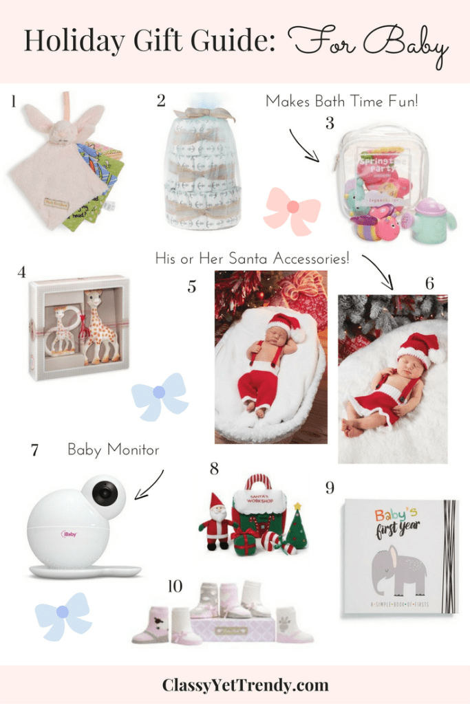 Holiday  Gift Guide For Baby