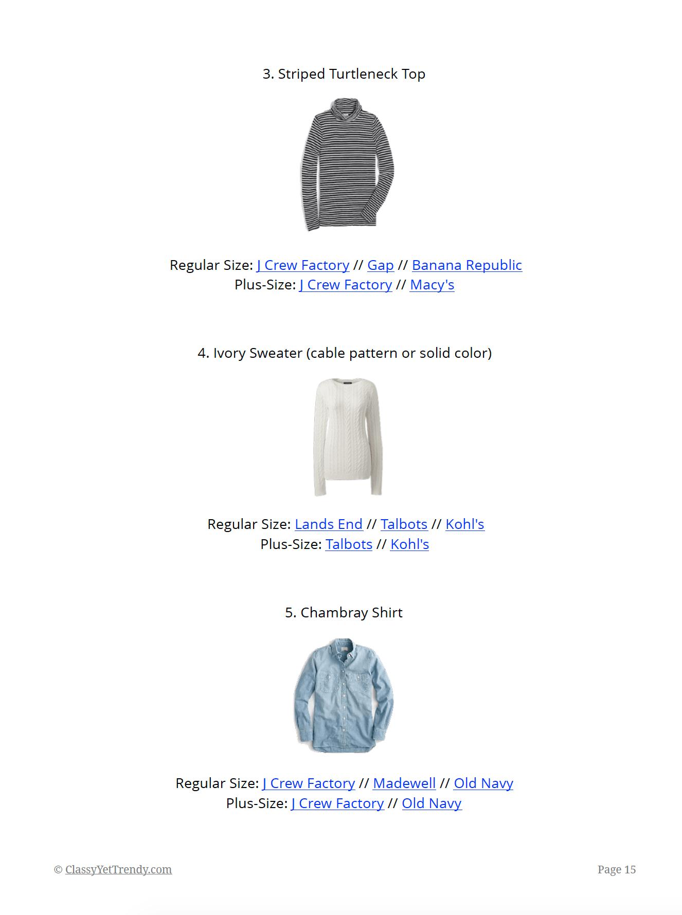 The Essential Capsule Wardrobe: Winter 2018/2019