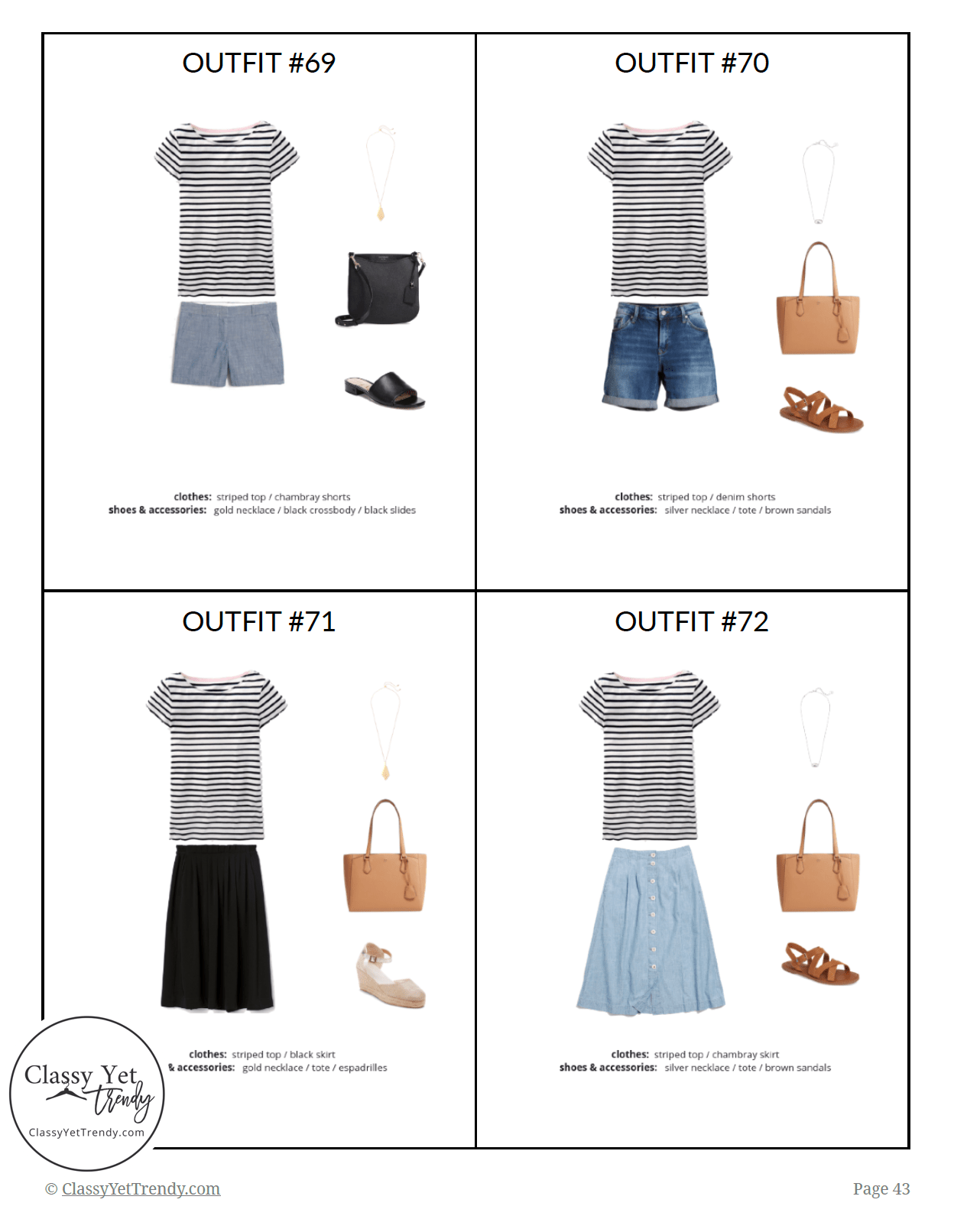 The French Minimalist Capsule Wardrobe Summer 2019