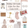 Holiday Gift Guide 2019 Gifts For Her Under 100 Classy