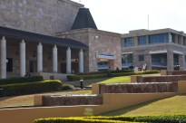 Main Library External View Entrance