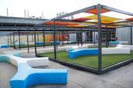 Auchmuty Library roof Garden