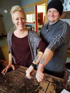Smokehouse Butcher Block Jeremy and Nan Tattoos