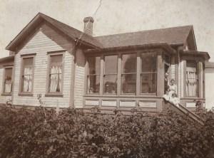 Alderbrook History moberg house 1900