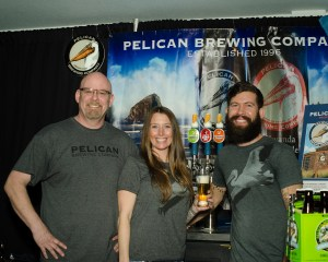 Pouring at the Coast Seaside Craft Beer