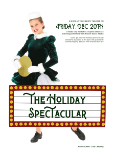 The Holiday Spectacular @ The Liberty Theatre   Astoria   Oregon   United States