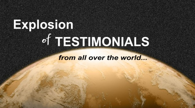 Explosion of Testimonials on New LIFE Results