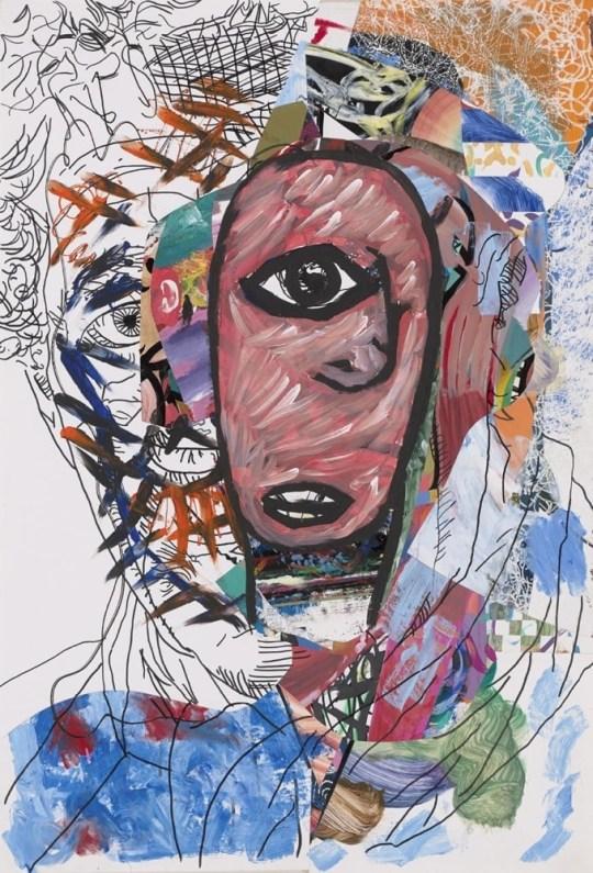 Cyclope - Peinture de Claude Tironneau