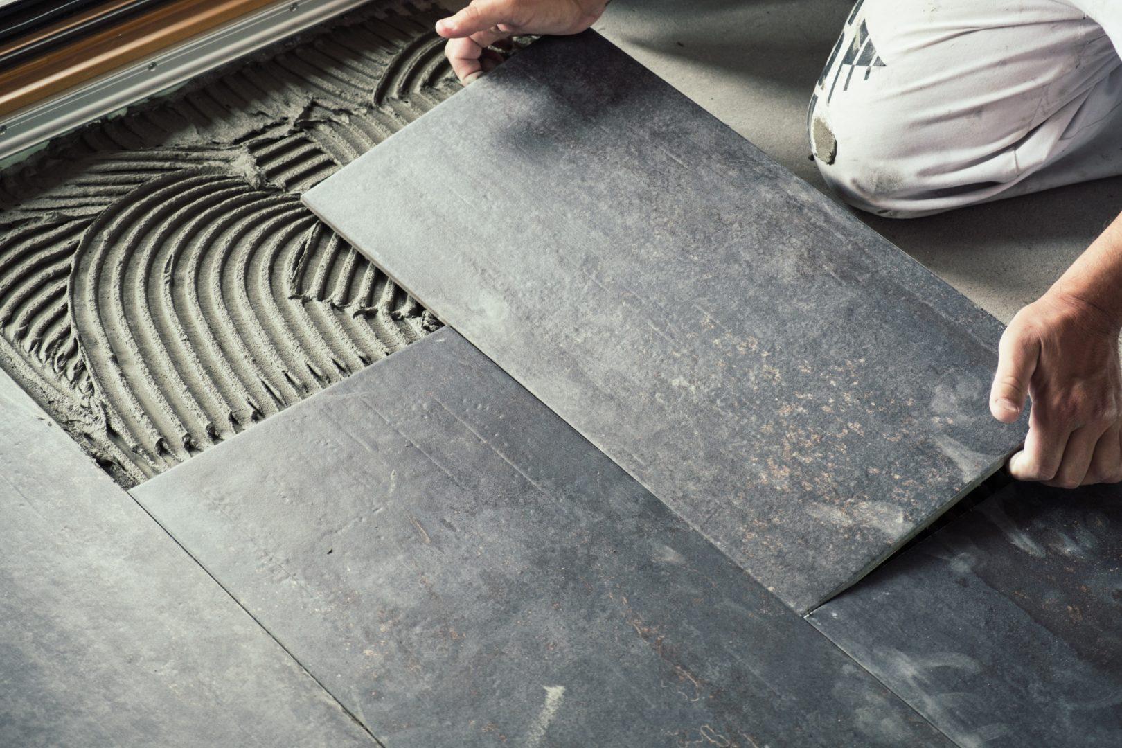 tile concrete vinyl carpet hardwood