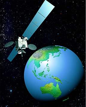 Gambar Satelit Asiasat 4 Hongkong