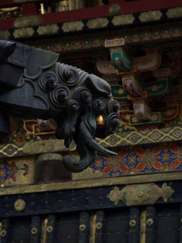 Im Tempelbezirk Nikko, welcher zum UNESCO-Weltkulturerbe gehört