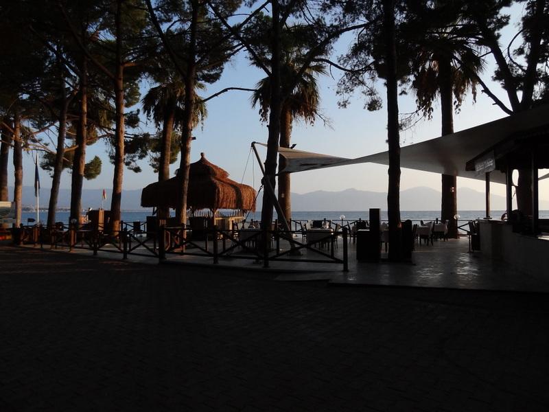 die karibische Hotelanlage in der Nähe von Kusadasi