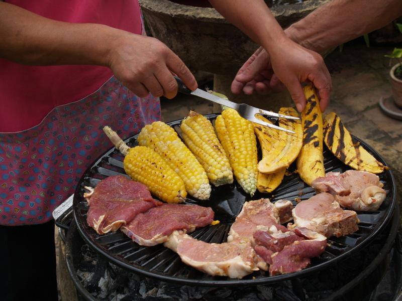 Grill-FIesta in Villa de Leyva