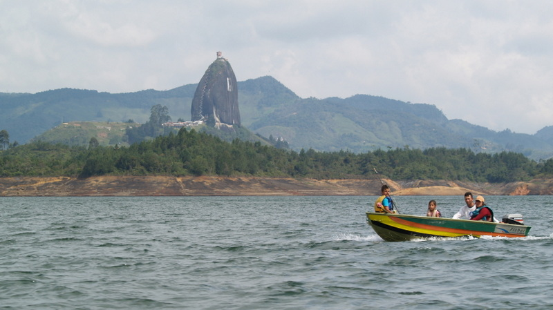 Bootsausflug auf dem Stausee Peñol-Guatapé