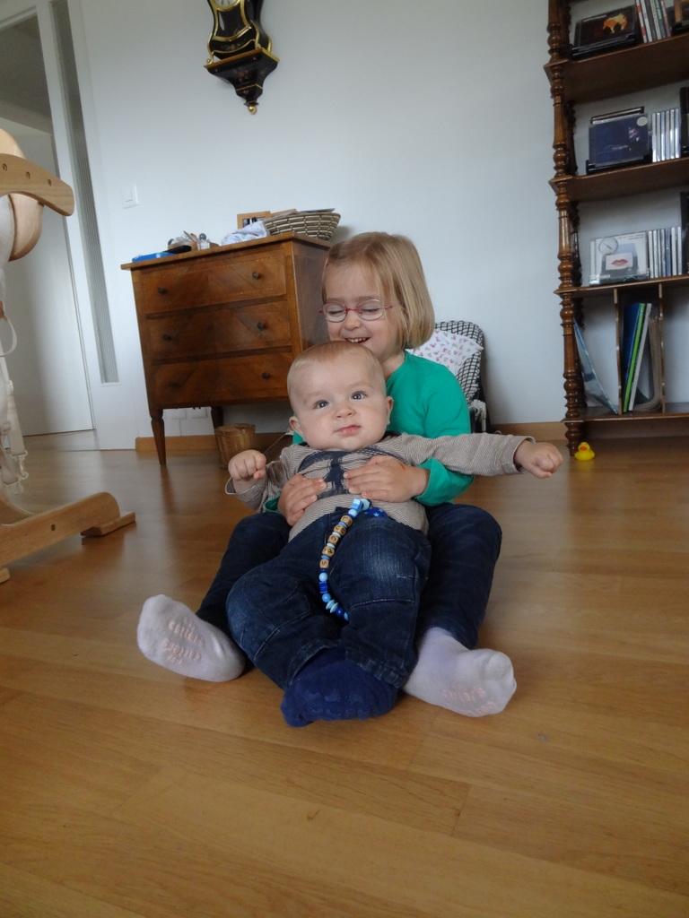 Laura Maria mit Lucas