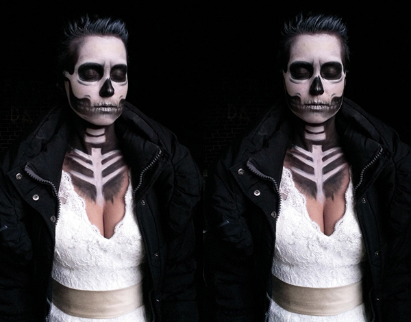 Totenkopf Skull Make Up