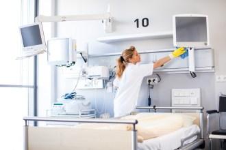 Reinigung, Cleaning, Klüh, Krankenhaus, Putzfrau, Reinigungspersonal, Claudia Zurlo Photography