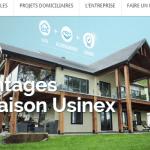 realisation site web wordpress usinex