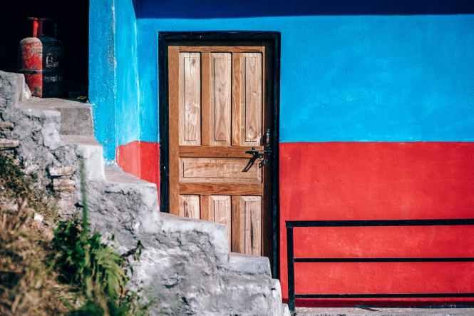door entrance estate exterior