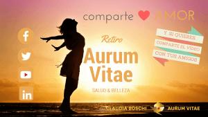 Retiro finde Aurum Vitae