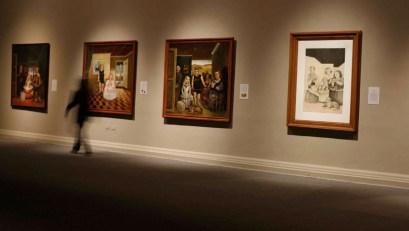 MNBA. Sala Chile. Velázquez en la obra de Bru y Cienfuegos, 2008