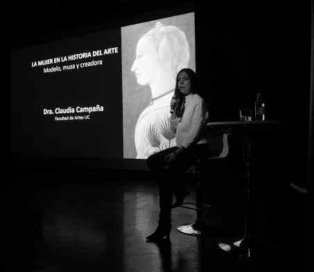 Claudia Campaña. Encuentros El Mercurio. Marzo 2016