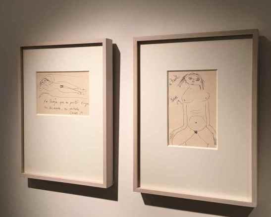 Adolfo Couve- imágenes inéditas. Dibujos 1959. Curatoría Claudia Campaña