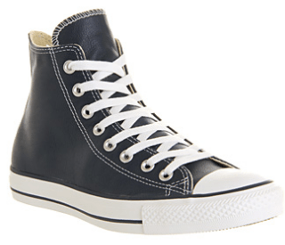 Converse All Star Hi Leather Athletic Navy