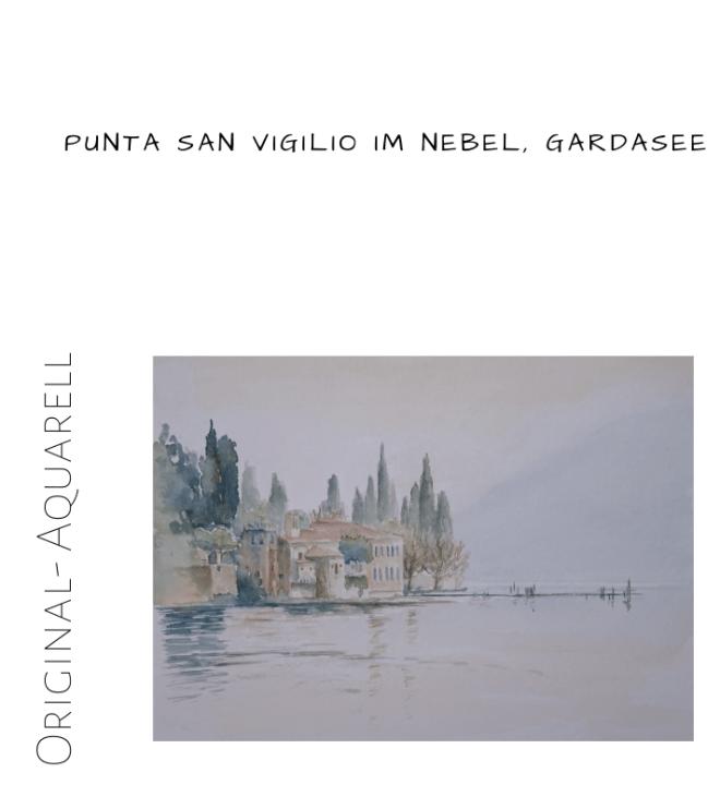 Punta san Vigilio Gardasee