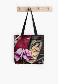tote bag bettie page