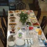 Vegetarisches Frühstück auf der Yoga und Meditationsreise in Griechenland
