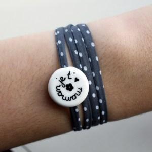 bracelet made en france maman