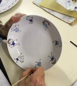 atelier peinture sur porcelaine lille