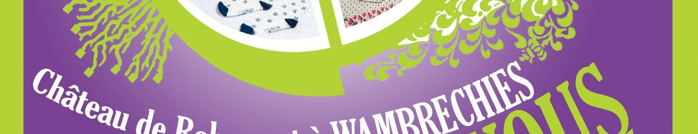 Salon de créateurs solidaires au château de Wambrechies les 25 et 26 septembre