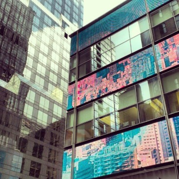 Écrans vidéo du bâtiment Barkley (Manhattan)
