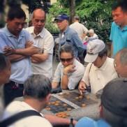 Joueurs de go au quartier chinois