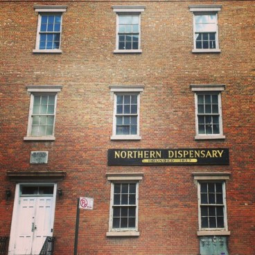 Ancien dispensaire, fondé en 1827 (Greenwich Village)