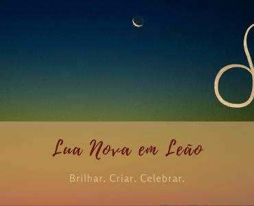 Lua Nova em Leão