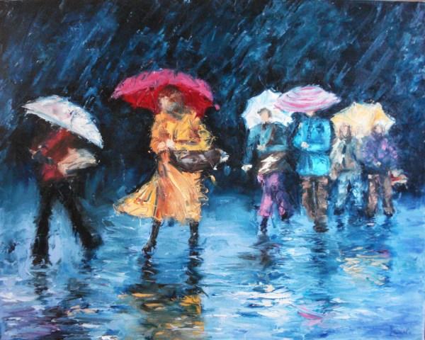 Pluie Claudia Mandl