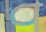 """Small landscape, Day 1 - 7"""" x 5"""" on canvas board."""