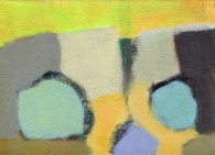 """Small landscape, Day 33 - 5"""" x 7"""" on canvas board."""