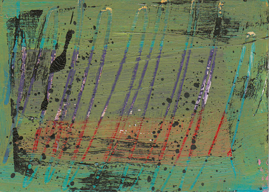 ATC Abstract green with scratches 12-16 small