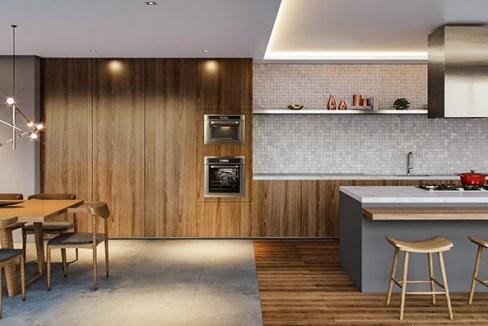 Espaço Gourmet com 62m² do Next Astorga Condomínio Clube