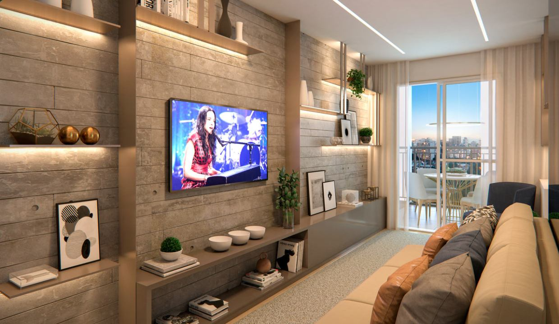 Apartamento de 62m² do TEG Corazza