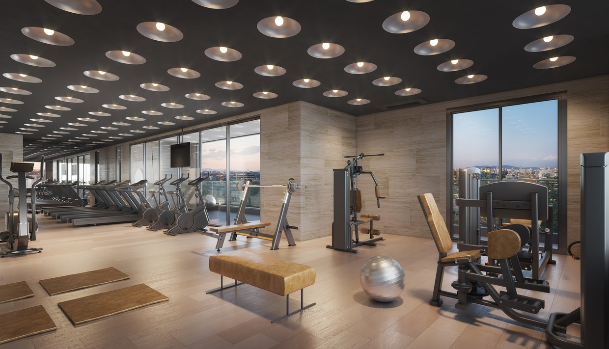 Perspectiva do Fitness - Gravura Perdizes