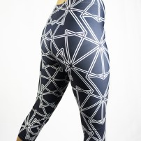 Black Symmetry Leggings by Claudia Owen 2