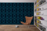 Circles Wallpaper by Claudia Owen