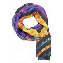Geometry Silk Scarf by Claudia Owen 1